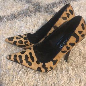 ALDO Leopard print heels